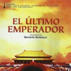 Cine: D347. EL ULTIMO EMPERADOR. BERNARDO BERTOLUCI. DVD. NUEVO Y PRECINTADO.. Lote 98129847