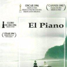 Cine: D343. EL PIANO. DVD. NUEVO Y PRECINTADO.. Lote 98130031