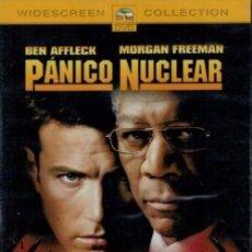 Cine: D344. PANICO NUCLEAR. BEN AFFLECK. MORGAN FEEMAN. DVD. NUEVO Y PRECINTADO.. Lote 98130059