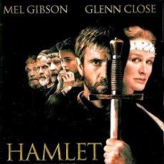 Cine: D346. HAMLET. MEL GIBSON. GLENN CLOSE. DVD. NUEVO Y PRECINTADO.. Lote 98130095