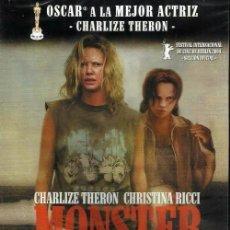 Cine: D345. MONSTER. CHARLIZE THERON. CHRISTINA RICCI. DVD. NUEVO Y PRECINTADO.. Lote 98130123