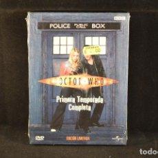 Cine: DOCTOR WHO - PRIMERA TEMPORADA COMPLETA - 4 DVD . Lote 98157007