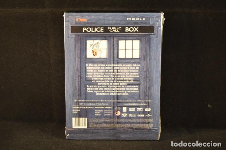 Series de TV: DOCTOR WHO - PRIMERA TEMPORADA COMPLETA - 4 DVD - Foto 2 - 98157007