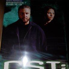 Cine: EG3/1//CSI TEMP 5 (16-18). Lote 98185024