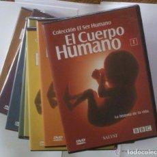 Cine: DVD EL CUERPO HUMANO. COLECCION EL SER HUMANO: 8 DVDS - COMPLETA. Lote 98246467