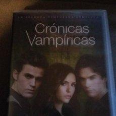 Series de TV: CRONICAS VAMPIRICAS - SEGUNDA TEMPORADA COMPLETA EN DVD - 5 DVDS REF. UR EST. Lote 99846727