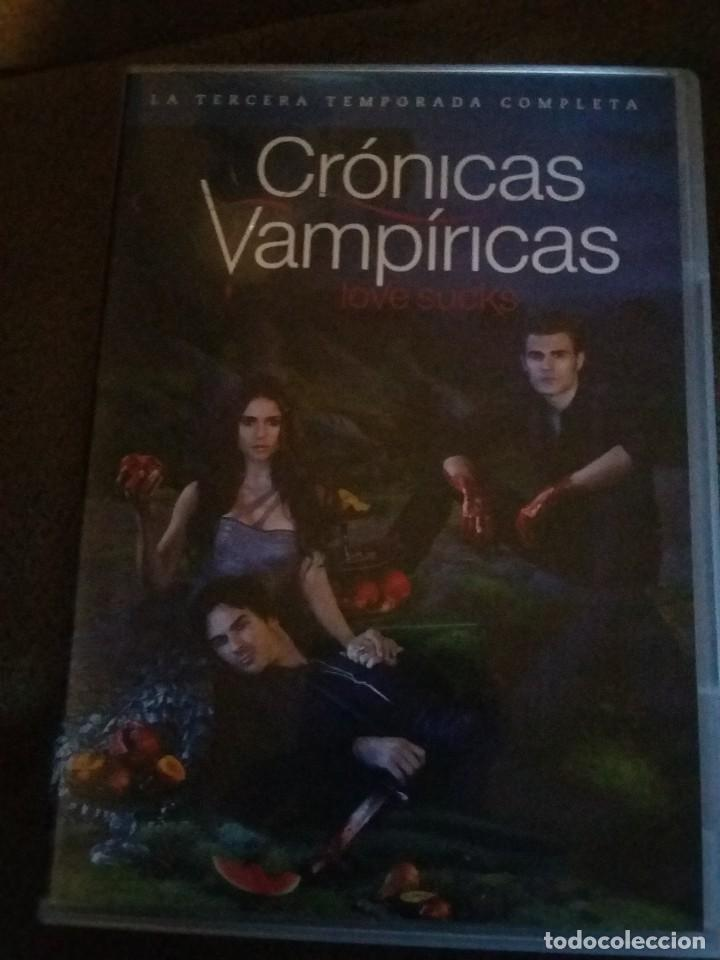 CRONICAS VAMPIRICAS -TERCERA TEMPORADA COMPLETA EN DVD - 5 DVDS REF. UR EST (Series TV en DVD)