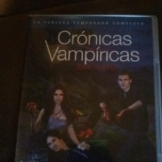 Series de TV: CRONICAS VAMPIRICAS -TERCERA TEMPORADA COMPLETA EN DVD - 5 DVDS REF. UR EST. Lote 99846763