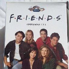 Series de TV: FRIENDS TEMPORADAS 1 Y 2. 16 DVDS EN SU CAJA. Lote 99955199