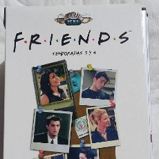Series de TV: FRIENDS TEMPORADAS 3 Y 4. 16 DVDS EN SU CAJA. Lote 99955263