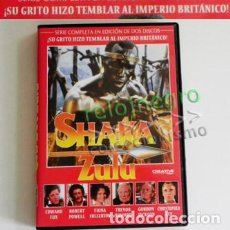 Cine: SHAKA ZULÚ - DVDS SERIE COMPLETA - HISTORIA DEL MÍTICO GUERRERO HIZO TEMBLAR A BRITÁNICOS DVD ÁFRICA. Lote 100263155
