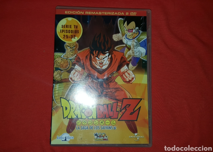 DVDS SERIE DRAGON BALL Z EP.25-32 (Series TV en DVD)