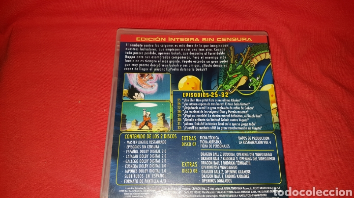 Series de TV: DVDs Serie Dragon Ball Z Ep.25-32 - Foto 2 - 100315910
