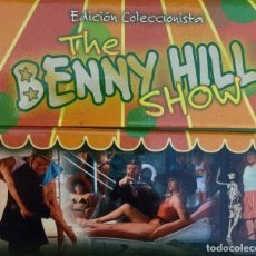 Cine: BENNY HILL. SERIE COMPLETA EN EDICIÓN DE COLECCIONISTA CON ESTUCHE CONTENEDOR.. Lote 100418303