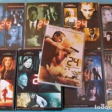 Series de TV: 24 SERIE COMPLETA - 8 TEMPORADAS + REDEMPTION - DVD. Lote 100637215