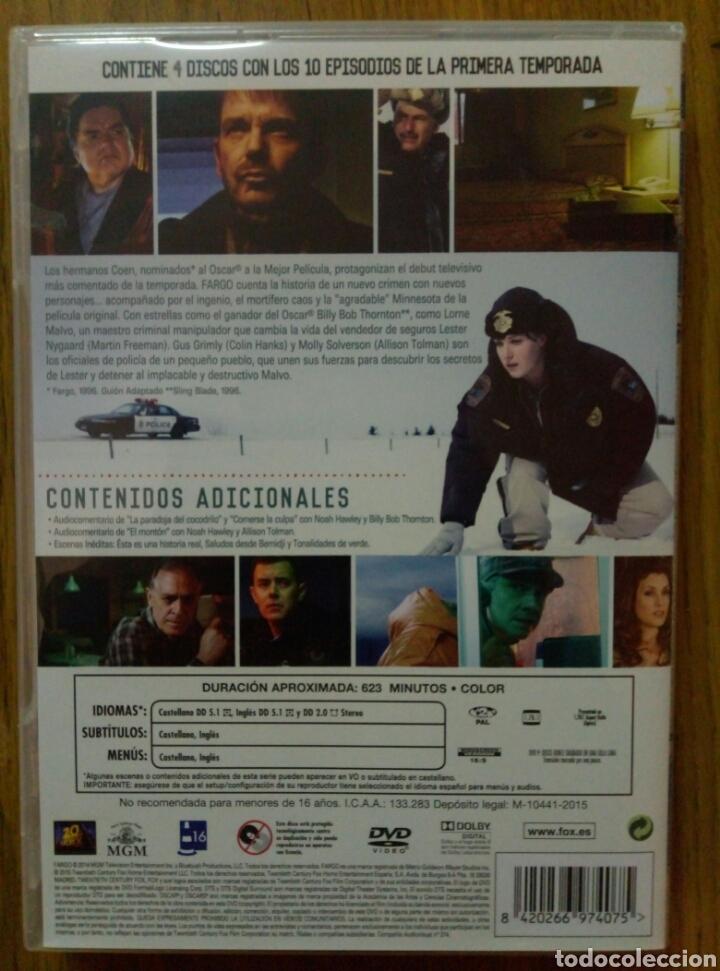 Series de TV: Fargo (Temporada 1) 4 DVD - Foto 2 - 100645768