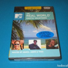 Cine: THE REAL WORLD ( EXOTIC VACATIONS ) - DVD NTSC - MTV'S DVD COLLECTION - PRECINTADO. Lote 100736343