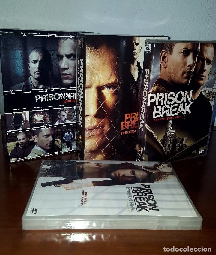 Serie completa prison break temporadas 1-4 más - Verkauft durch ...