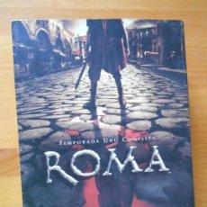 Series de TV: DVD ROMA - TEMPORADA UNO COMPLETA - 6 DISCOS - 12 EPISODIOS (5D). Lote 101984979