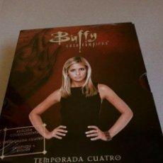 Cine: BUFFY CAZA VAMPIROS (4ª TEMPORADA COMPLETA) (NUEVA) SON 22 CAPÍTULOS EN 6 DVDS-SERIE TV. Lote 102085219