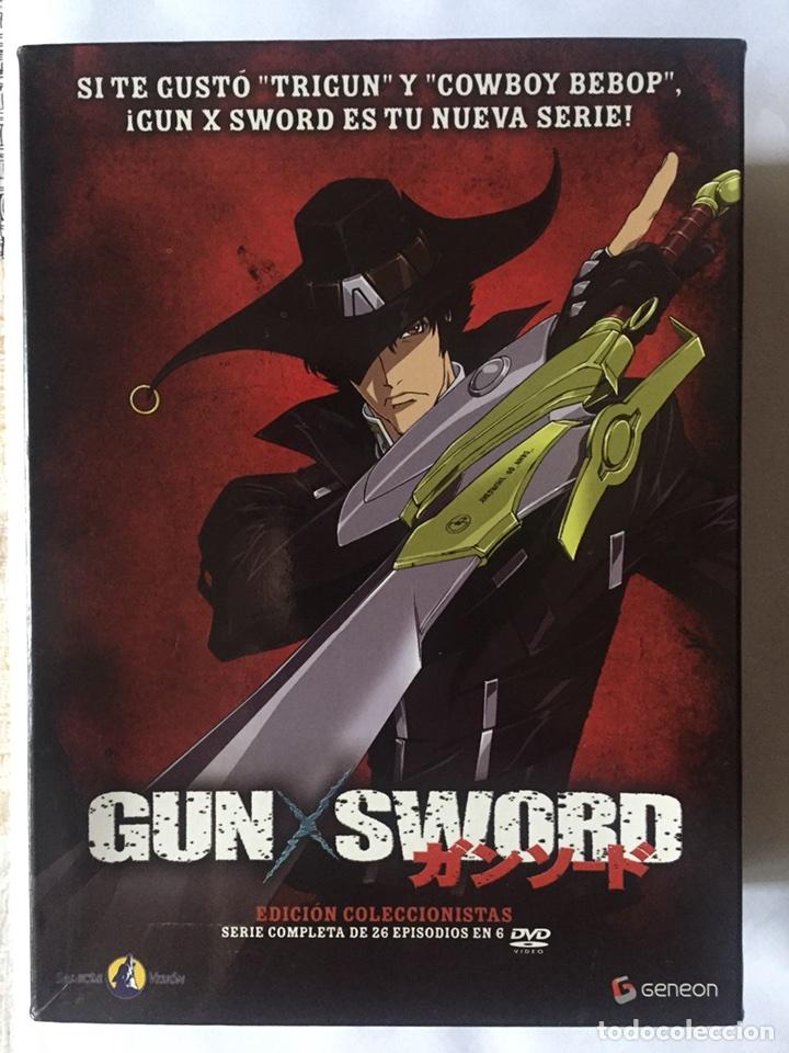 GUN X SWORD. EDICIÓN COLECCIONISTA NUMERADA. COMPLETA. SELECTA VISIÓN. DVD ANIME. 2007 (Series TV en DVD)