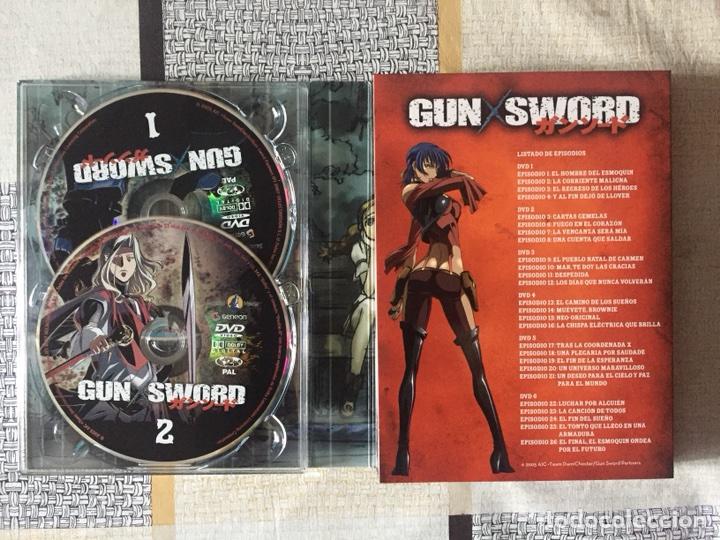 Series de TV: Gun x sword. Edición coleccionista numerada. Completa. Selecta visión. Dvd anime. 2007 - Foto 18 - 102202227