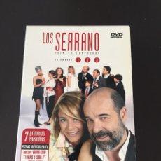 Series de TV: DVD LOS SERRANO PRIMERA TEMPORADA. Lote 102488274