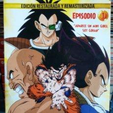 Series de TV: DRAGON BALL Z. LA SAGA DE LOS SAIYANS. DVD.. Lote 102607168
