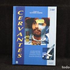 Series de TV: CERVANTES - ALFONSO UNGRIA - 3 DVD. Lote 102717415