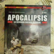 Series de TV: DOCUMENTAL - DVD - SEGUNDA GUERRA MUNDIAL - APOCALIPSIS - 2009 - 320 MINUTOS - 3 DVD -. Lote 102832087