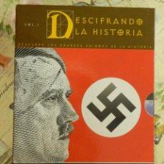 Cine: DOCUMENTAL -4 DVD - 2ª SEGUNDA GUERRA MUNDIAL - PROFECIAS, DESCIFRANDO LA HISTORIA -2005 180 MINUTOS. Lote 102835603