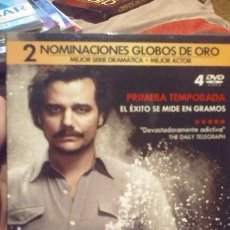 Series de TV: NARCOS DVD 1 TEMPORADA. Lote 103059851