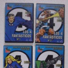 Series de TV: DVD LOS 4 FANTASTICOS - SERIE COMPLETA DE DIBUJOS ANIMADOS: 13 CAPITULOS EN 4 DVDS. Lote 103120983