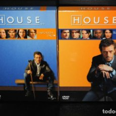 Series de TV: HOUSE M.D. TEMPORADAS 1 Y 2 DVD HUGH LAURIE DAVID SHORE. Lote 103172747