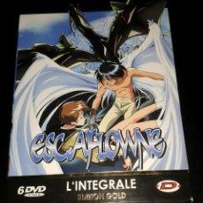 Series de TV: COFFRET 6 DVD ESCAFLOWNE ÉDITION GOLD INTÉGRALE FRANÇAIS 26 ÉPISODES USÉ. Lote 103172811