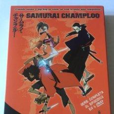 Series de TV: DVD ANIME SAMURAI CHAMPLOO. COMPLETA. 26 EPISODIOS. SELECTA VISIÓN. SLIM. 2008. Lote 103267355
