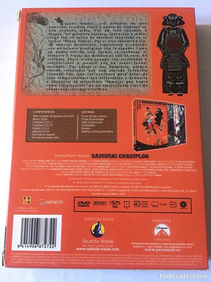 Series de TV: Dvd anime Samurai Champloo. Completa. 26 episodios. Selecta Visión. Slim. 2008 - Foto 2 - 103267355