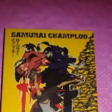 Series de TV: SAMURAI CHAMPLOO.EDICIÓN COLECCIONISTA SELECTA VISIÓN.SERIE COMPLETA VER FOTOS COMO NUEVO!!!. Lote 103338443