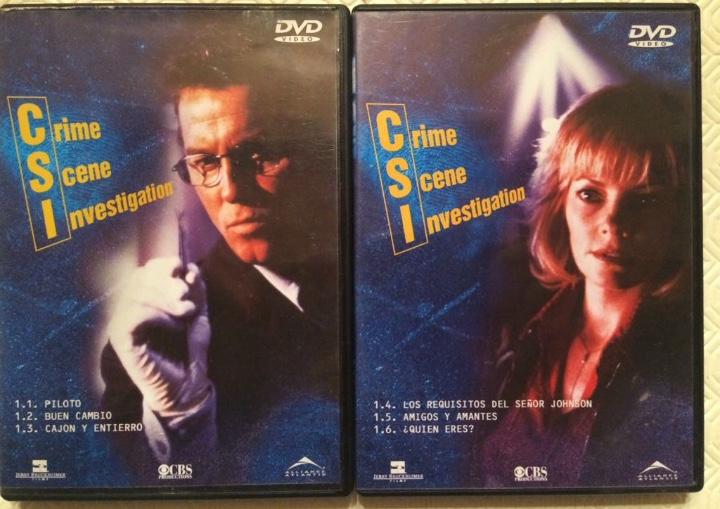 C.S.I. LAS VEGAS. PRIMERA TEMPORADA. EPISODIOS 1, 2, 3, 4, 5 Y 6. (Series TV en DVD)