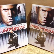 Series de TV: PRISON BREAK / PRIMERA TEMPORADA COMPLETA / PACK 6 DVD DE LUJO CON ESTUCHE.. Lote 106610239