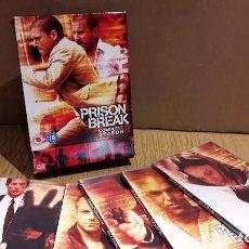Series de TV: PRISON BREAK. TEMPORADA 2 COMPLETA / VERSIÓN INGLESA / 6 DVD DE LUJO + ESTUCHE.. Lote 103555967