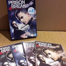 Series de TV: PRISON BREAK. TEMPORADA 4-FINAL / VERSIÓN INGLESA / 7 DVD - 24 EPISODIOS + ESTUCHE.. Lote 103557567