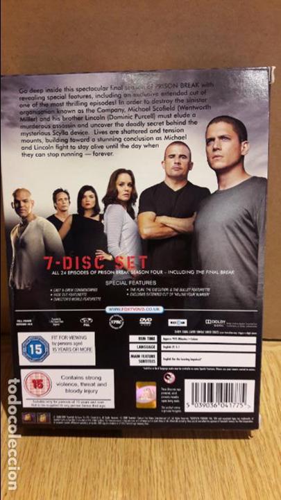 prison break. temporada 4-final / versión ingle - Comprar Series de ...