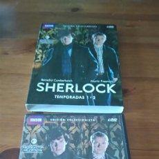Series de TV: SHERLOCK. TEMPORADA 1-2.. Lote 103818936