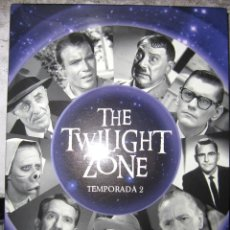 Cine: THE TWILIGHT ZONE (LA DIMENSION DESCONOCIDA) - 2ª TEMPORADA COMPLETA 29 CAPITULOS EN 5 DVD. Lote 103875807