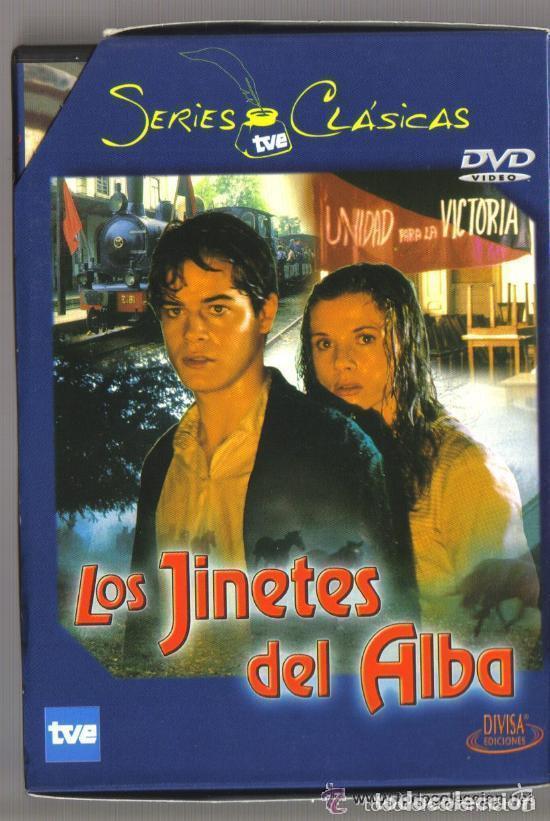 DVD SERIE TV - LOS JINETES DEL ALBA - 3 DVD SERIE COMPLETA - COMO NUEVO - UN SOLO USO (Series TV en DVD)