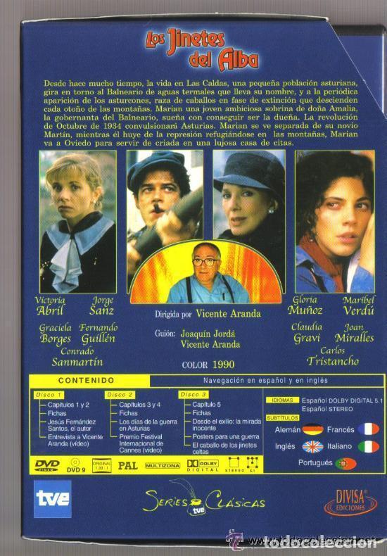 Series de TV: DVD SERIE TV - LOS JINETES DEL ALBA - 3 DVD SERIE COMPLETA - COMO NUEVO - UN SOLO USO - Foto 2 - 103877939