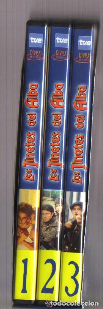 Series de TV: DVD SERIE TV - LOS JINETES DEL ALBA - 3 DVD SERIE COMPLETA - COMO NUEVO - UN SOLO USO - Foto 3 - 103877939