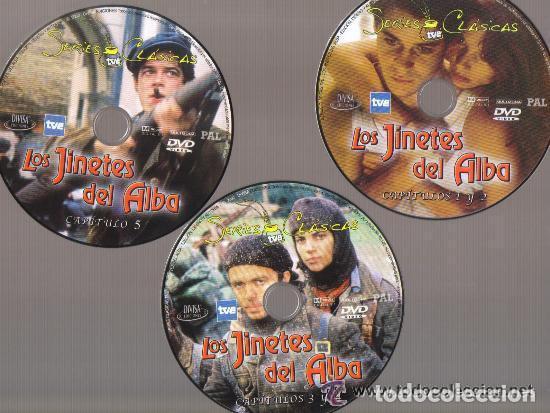 Series de TV: DVD SERIE TV - LOS JINETES DEL ALBA - 3 DVD SERIE COMPLETA - COMO NUEVO - UN SOLO USO - Foto 4 - 103877939
