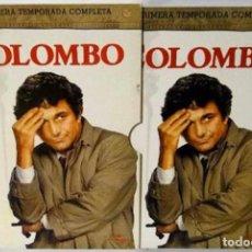 Cine: COLOMBO. LA PRIMERA TEMPORADA COMPLETA. 6 DVDS. BUEN ESTADO. UNIVERSAL STUDIOS. AÑO: 2004.. Lote 104071615